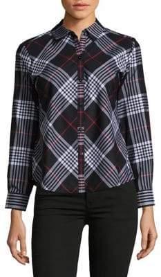 Lord & Taylor Glasgow Plaid Button-Down Shirt