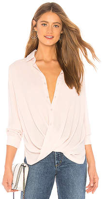 Krisa Surplice Blouse