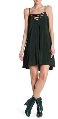 BB Dakota Radley V-Neck Pleated Dress