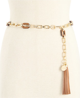 MICHAEL Michael Kors Square Chain Belt $68 thestylecure.com