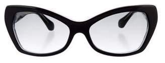 Balenciaga Gradient Cat-Eye Sunglasses