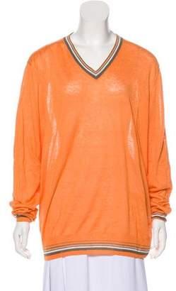 Hermes Linen Knit Sweater