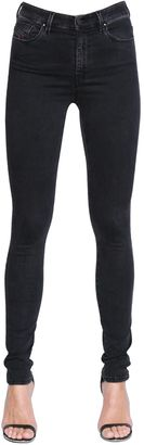 Skinzee High Stretch Cotton Denim Jeans $198 thestylecure.com