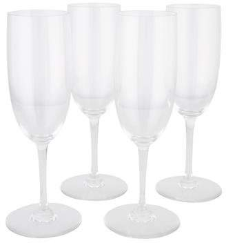 Baccarat Set of 4 Perfection Champagne Flutes