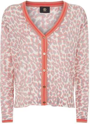 Bogner Leopard Print Cardigan