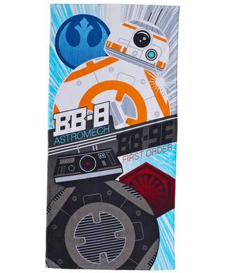 Star Wars Episode VIII The Last Jedi Droids Beach Towel by Jumping Beans