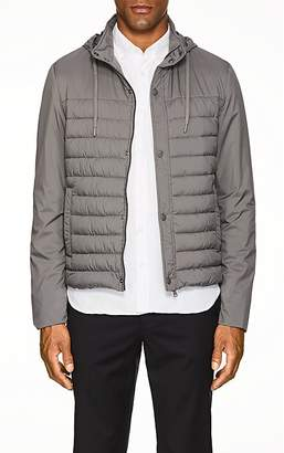 Herno Men's Hooded Tech-Fabric Puffer Jacket