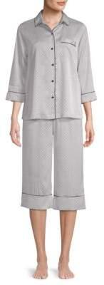 Kate Spade Two-Piece Capri Pajama Set