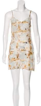 AllSaints Printed Mini Dress