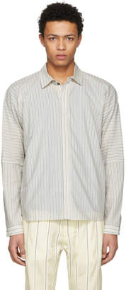 Off-White Jan Jan Van Essche Jan-Jan Van Essche Cotton Stripe Shirt