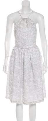 Steven Alan Knee-Length Halter Dress