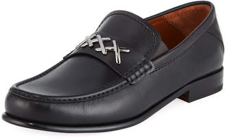 Ermenegildo Zegna Men's XXX Leather Penny Loafer