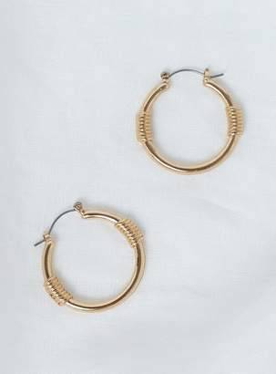 Dakota Minc Collections Hoops Gold
