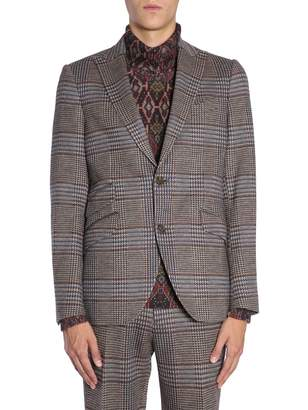 Etro Prince Of Wales Check Jacket