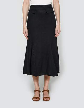 Flared Pocket Skirt $454 thestylecure.com