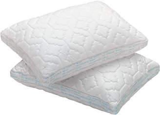 Sharper Image Standard Memory Foam 2-Pack Pillow Protectors
