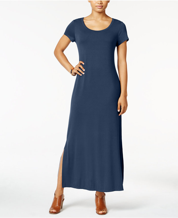 Style & Co Short-Sleeve Maxi Dress, Only at Macy's 3