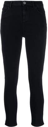 Twin-Set cropped skinny-fit jeans