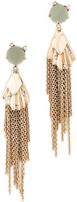 Alexis Bittar Dangling Tassel Earrings $195 thestylecure.com