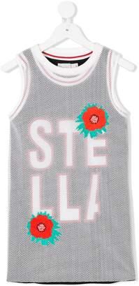 Stella McCartney logo mesh tank top set