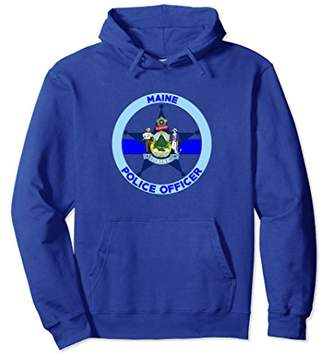 Maine Police Officer's Department Hoodie Policemen