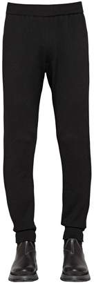 Prada Wool & Nylon Track Suit Pants