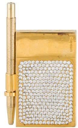 Judith Leiber Embellished Mini Notepad
