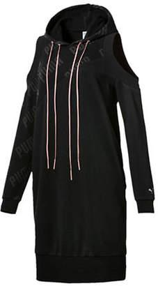 Puma En Pointe Oversized Cold-Shoulder Dress