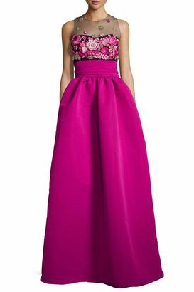 Notte by Marchesa Embroidered Ball Gown $1,295 thestylecure.com