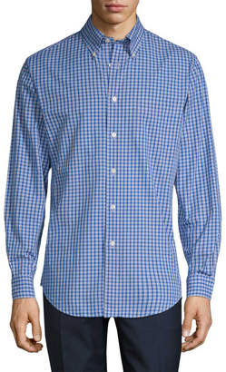 Brooks Brothers Mini Check Regent Sportshirt