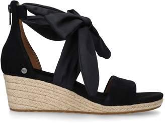 8515a3e5304 UGG Black Wedge Sandals For Women - ShopStyle UK