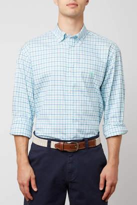 Live Oak Tattersalls Plaid Long Sleeve Woven Button Down Shirt