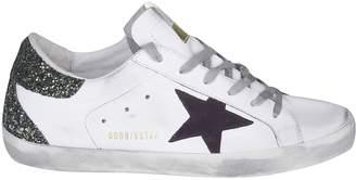 Golden Goose Superstar Glittered Low-cut Sneakers