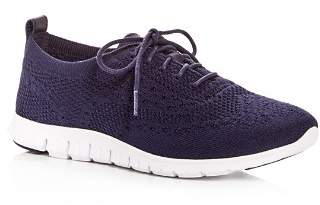 Cole Haan Women's ZeroGrand Stitchlite Knit Lace Up Sneakers