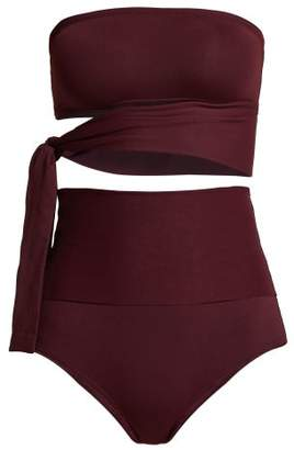 Eres Bank & Gredin Bikini - Womens - Burgundy