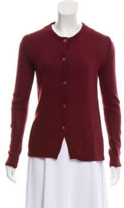 Miu Miu Long Sleeve Knit Cardigan