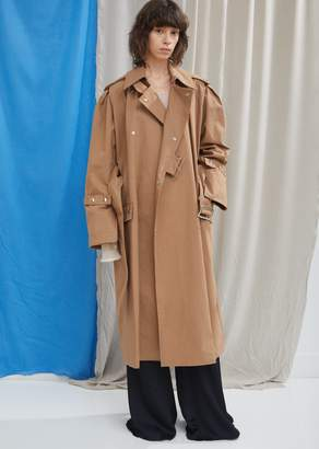Acne Studios Classic Cotton Trench Coat