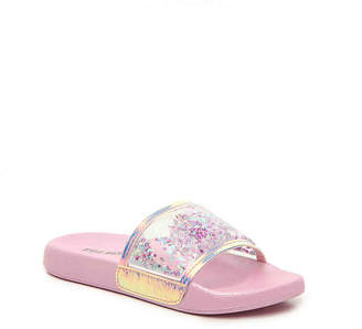 Steve Madden Jlavaa Youth Slide Sandal - Girl's