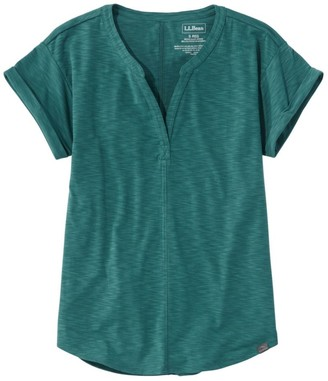L.L. Bean L.L.Bean Women's Short-Sleeve Streamside Tee