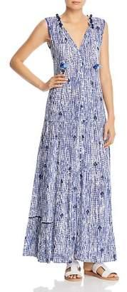Poupette St. Barth Clara Sleeveless Maxi Dress