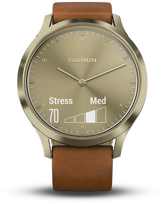 Garmin Vivomove Hr Unisex Brown Smart Watch-0100185015jcp