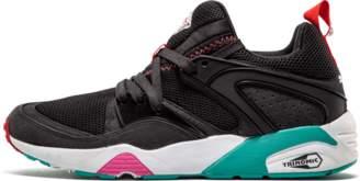 "Puma Blaze Of Glory OG ""Black Beast 'Sneaker Freaker' - Noir Blood Pink/Bits Algae"
