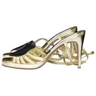 Jean Louis Scherrer Leather heels