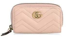 Gucci Marmont Leather Key Case