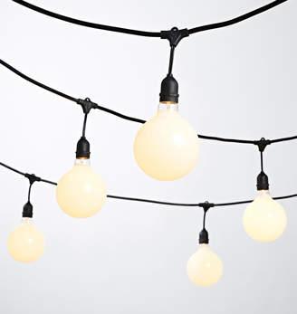 Rejuvenation 24 G40 White Bulb String Lights