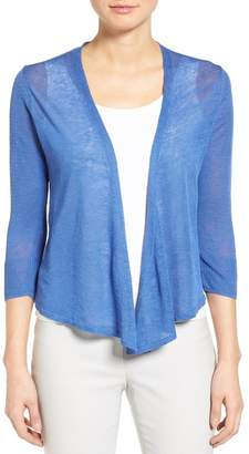 NIC AND ZOE '4-Way' Convertible Three Quarter Sleeve Cardigan $98 thestylecure.com