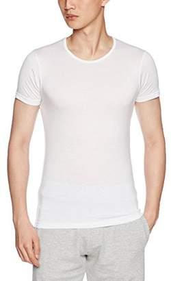 B.V.D. (ビー・ブイ・ディ NEW YORK REXCELL クルーネックTシャツ(M,L) GY353S WH ホワイト M