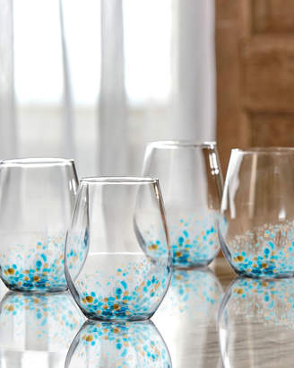 Jay Import Co Callie Stemless Wine Goblets, Set of Four