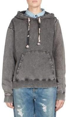 Saint Laurent Oversized Cotton Hoodie