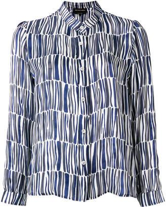Vanessa Seward geometric fitted shirt